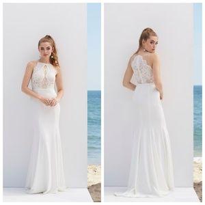 By Watter Barton White Wedding Dress